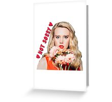 Kate Mckinnon Greeting Card