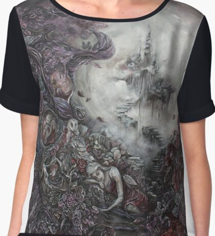 Now As Hope Sought, The Reclamation of Despair Chiffon Top