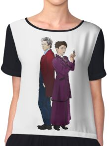 Missy and The Doctor Chiffon Top