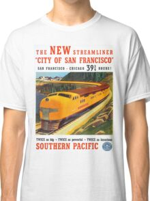 Vintage poster - City of San Francisco Classic T-Shirt