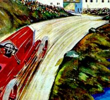 """SAN BERNARDO GRAND PRIX"" Vintage Auto Racing Print Sticker"