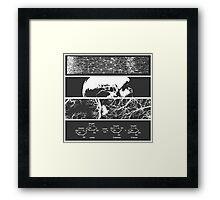 Slices of Life Framed Print
