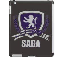 SAGA Official Merchandise BLACK iPad Case/Skin