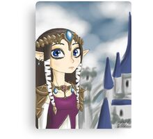 Twilight Princess Zelda Canvas Print