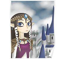Twilight Princess Zelda Poster