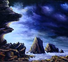 Approaching Storm by John Cocoris