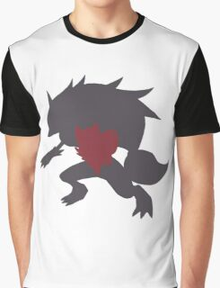 Simplistic Zorua evolution line Graphic T-Shirt