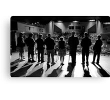 Trading Cards Award Ceremony - Journalists Canvas Print