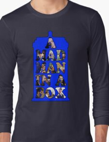 A mad man in a box Long Sleeve T-Shirt