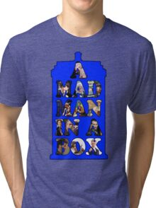 A mad man in a box Tri-blend T-Shirt