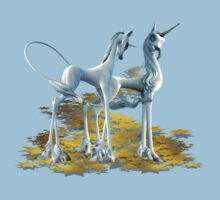 Unicorns in Love, tee shirt by LoneAngel
