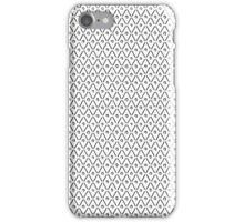 Black and White Graphite  iPhone Case/Skin