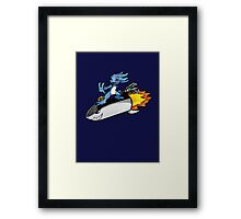 Rocket Fizz Framed Print