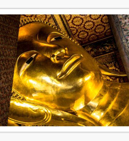 Reclining Buddha Sticker