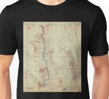 USGS TOPO Map Arizona AZ Camp Mohave 315436 1892 250000 Unisex T-Shirt