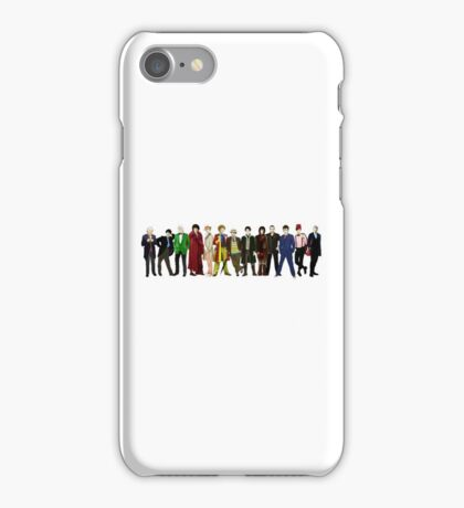 Doctor Who - 13 Doctors lineup iPhone Case/Skin