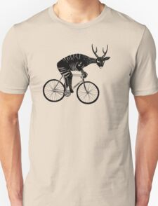 Deer & Bicycle Unisex T-Shirt