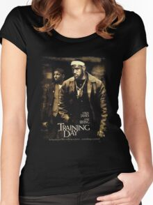 Training Day  Women's Fitted Scoop T-Shirt