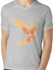 Simplistic Pidgey evolution line Mens V-Neck T-Shirt