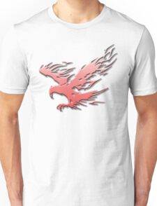 Tribal Eagle Red version Unisex T-Shirt