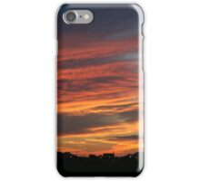 Colorful skies in August iPhone Case/Skin