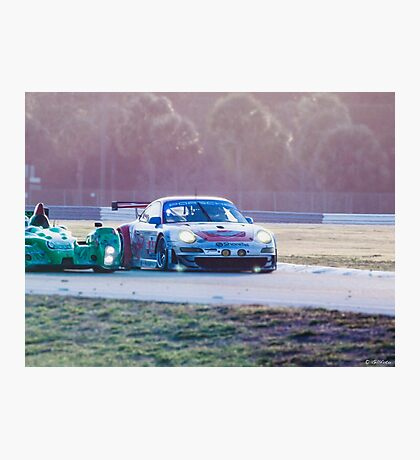 Sports Cars at Sebring 12 hours Photographic Print