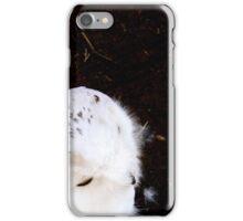 White OWL iPhone Case/Skin