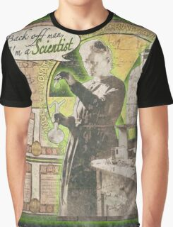 Popular Science: Marie Curie (distressed) Graphic T-Shirt