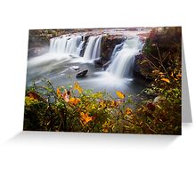 Autumn at Little River Canyon Greeting Card