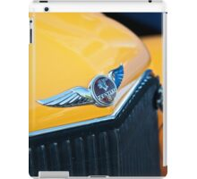1934 Pontiac 8 Touring Sedan Emblem iPad Case/Skin