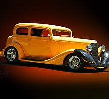 1934 Pontiac 8 Touring Sedan  by DaveKoontz
