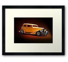 1934 Pontiac 8 Touring Sedan  Framed Print