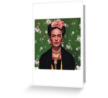 Frida Kahlo Greeting Card