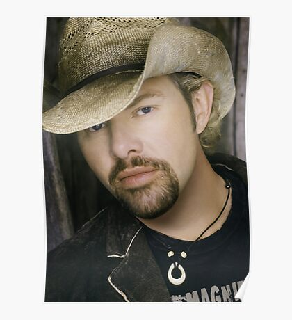 Toby Keith - Celebrity (Oil Paint Art) Poster