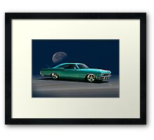 1963 Chevrolet Impala Custom Framed Print