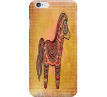 Ceremonial Indian Pony iPhone Case/Skin