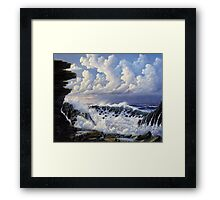 Storm Approaching Framed Print