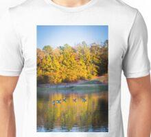 Autumn Memories on the Pond Unisex T-Shirt