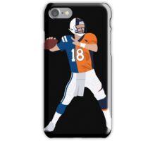 Peyton Manning Colts Broncos Combo iPhone Case/Skin