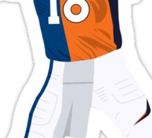 Peyton Manning Colts Broncos Combo Sticker