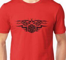 Tribal Dice black Unisex T-Shirt