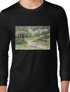 Let's take a walk Long Sleeve T-Shirt