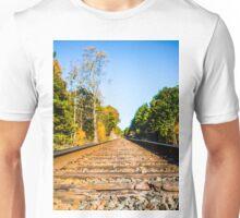 Autumn on the Railroad  Unisex T-Shirt