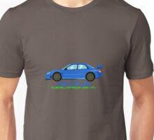 "Subaru Impreza STI ""The Flat Life"" Unisex T-Shirt"