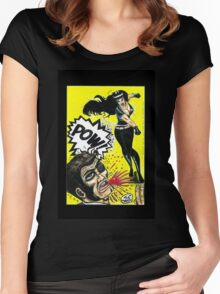 Bad Girls of Motion Pictures #3 (of 8)- Varla Women's Fitted Scoop T-Shirt