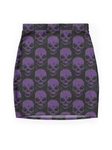 DedSec Skulls Mini Skirt