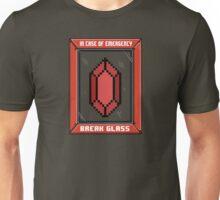 Break Glass for Emergency Money Unisex T-Shirt