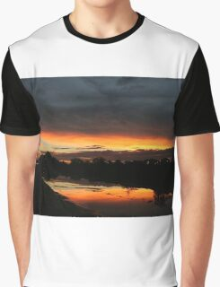 Fire in the sky 4 Graphic T-Shirt