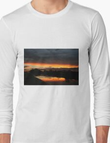 Fire in the sky 4 Long Sleeve T-Shirt