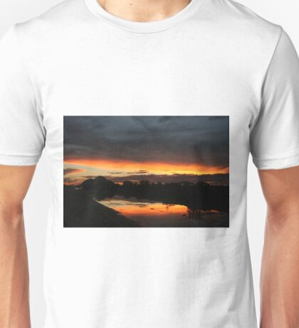 Fire in the sky 4 Unisex T-Shirt